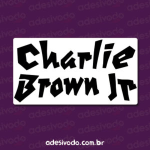 Adesivo do Charlie Brown Jr