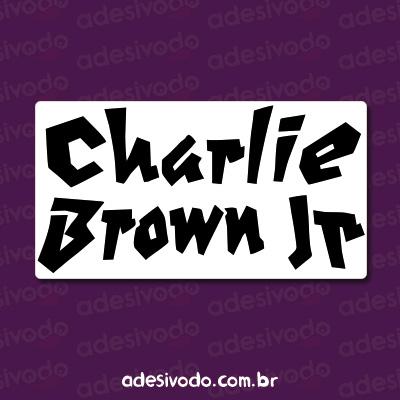 Adesivo do Charlie Brown Jr
