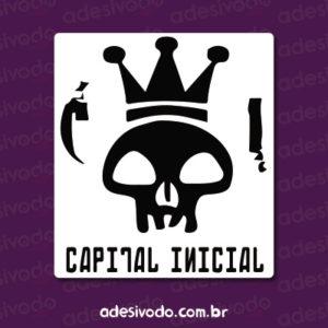 Adesivo do Capital Inicial