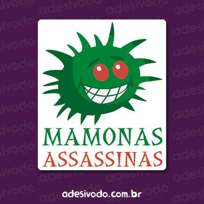 Adesivo dos Mamonas Assassinas