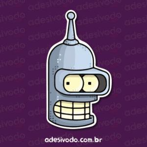 Adesivo do Bender Futurama