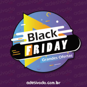 Adesivo Black Friday