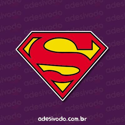Adesivo brasão Superman