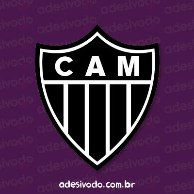 Adesivo do Atlético Mineiro
