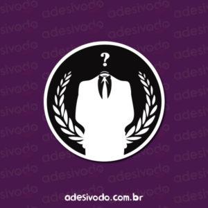 Adesivo da Anonymous