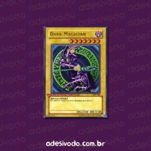 Adesivo da Carta Yu-Gi-Oh! Mago Negro