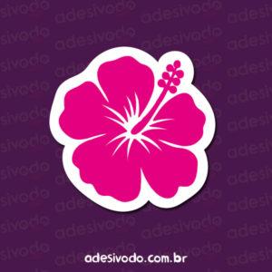 Adesivo da Flor de Hibisco