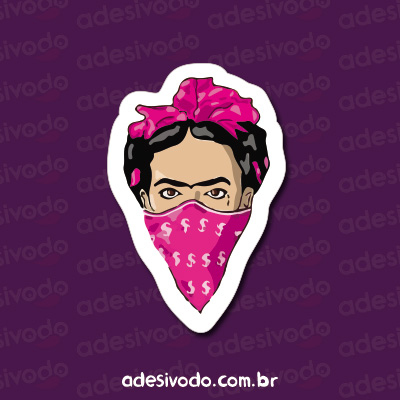 Adesivo da Frida Kahlo