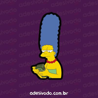 Adesivo da Marge Simpson