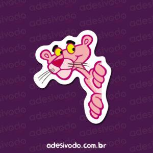 Adesivo da Pantera cor de rosa