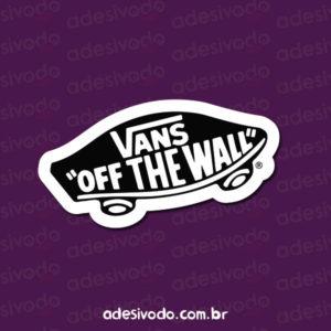 Adesivo da Vans Off The Wall