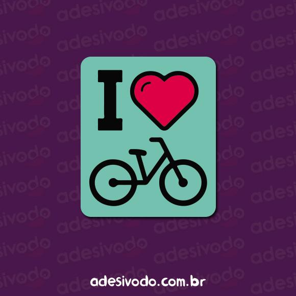 Adesivo de Bicicleta