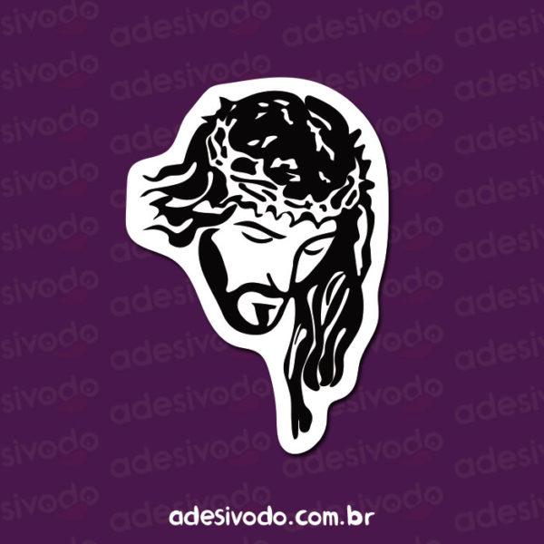 Adesivo de Jesus Cristo