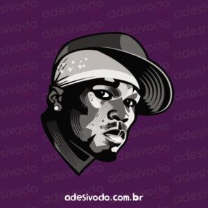 Adesivo do 50 Cent