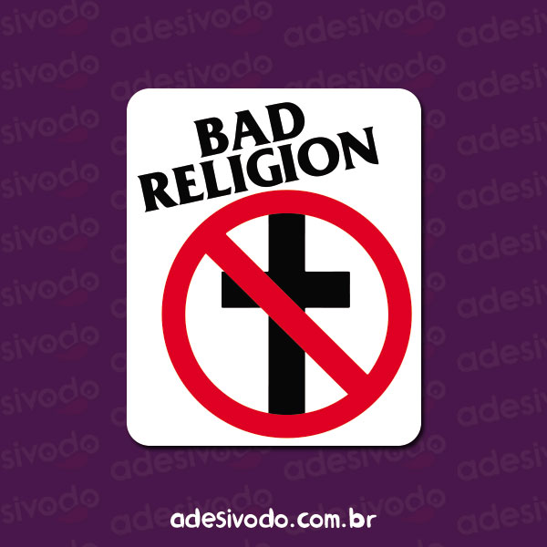 Adesivo do Bad Religion