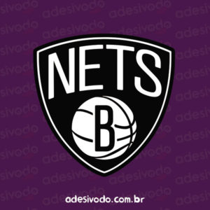 Adesivo do Brooklyn Nets