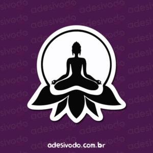 Adesivo do Budismo Yoga