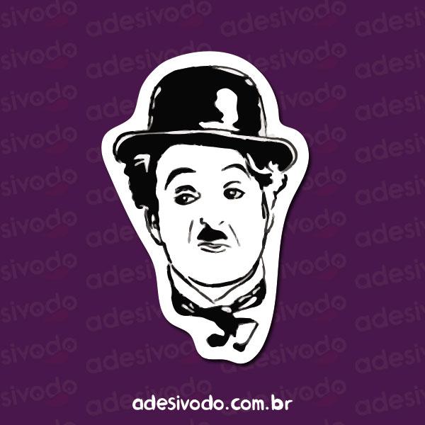 Adesivo do Charlie Chaplin