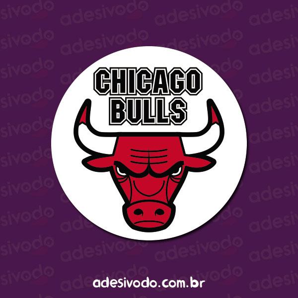 Adesivo do Chicago Bulls