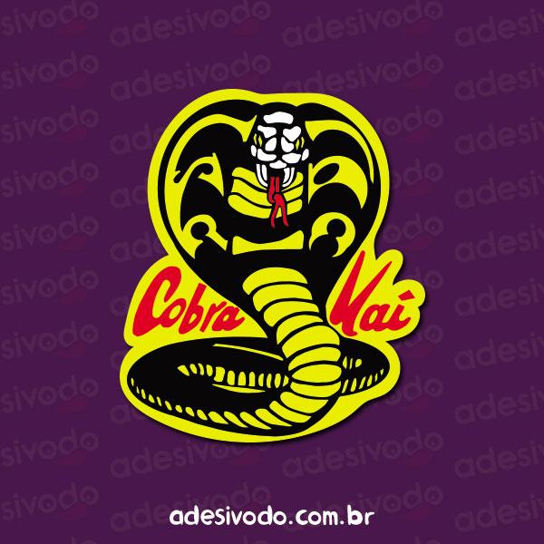 Adesivo do Cobra Kai