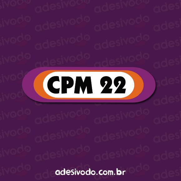 Adesivo do CPM 22