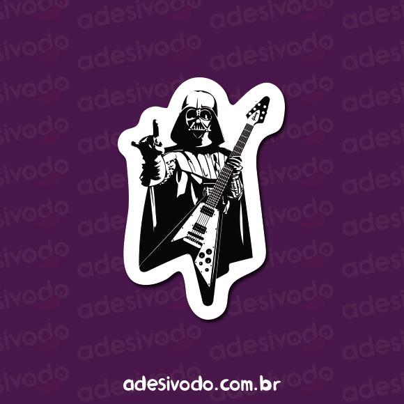 Adesivo do Darth Vader Rock