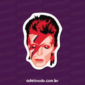 Adesivo do David Bowie