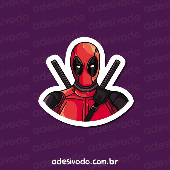 Adesivo do Deadpool