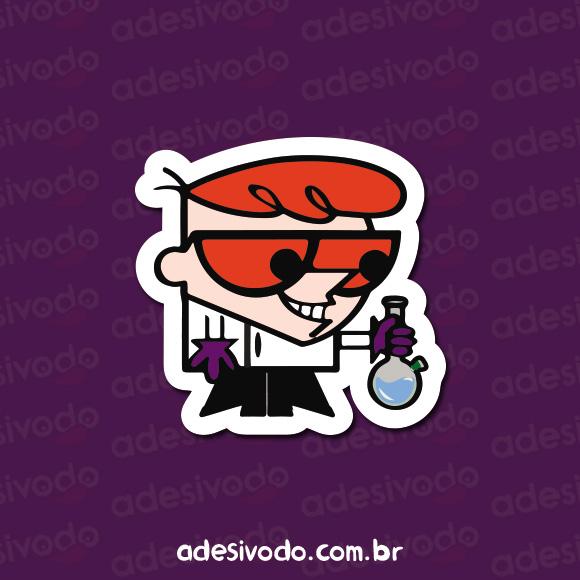 Adesivo do Dexter com bong