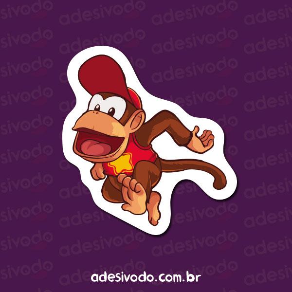 Adesivo do Diddy Kong