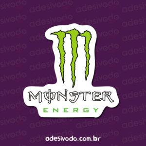 Adesivo do Energético Monster
