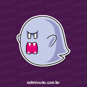 Adesivo do Fantasma do Mario