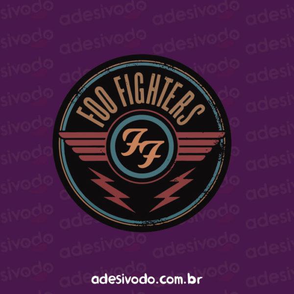 Adesivo do Foo Fighters