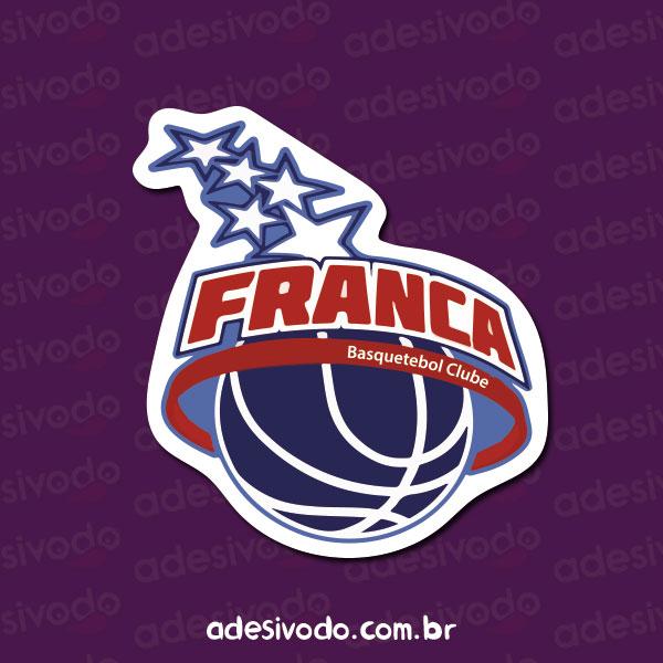 Adesivo do Franca Basquetebol