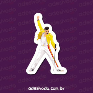 Adesivo do Freddie Mercury