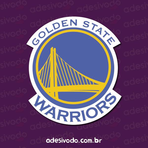 Adesivo do Golden State Warriors basquete
