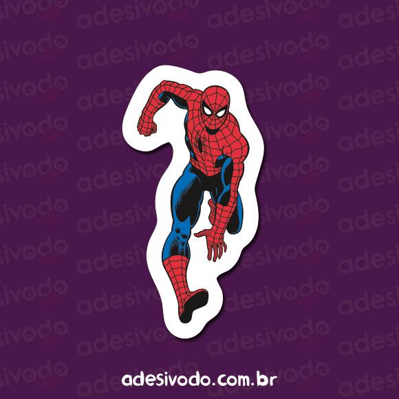Adesivo do Homem Aranha