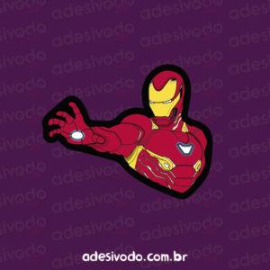 Adesivo do Homem de Ferro
