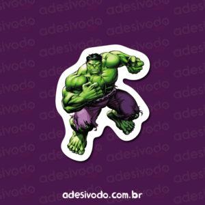Adesivo do Hulk Incrível