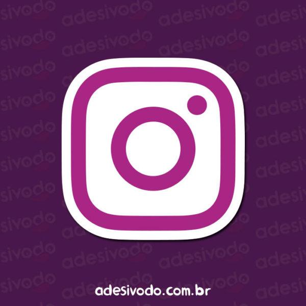 Adesivo do Instagram