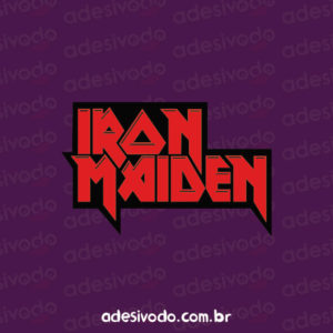 Adesivo do Iron Maiden
