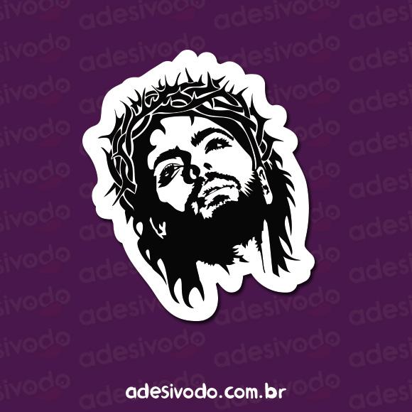 Adesivo do Jesus
