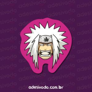 Adesivo do Jiraiya Naruto
