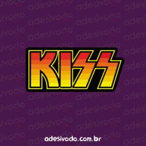 Adesivo do Kiss