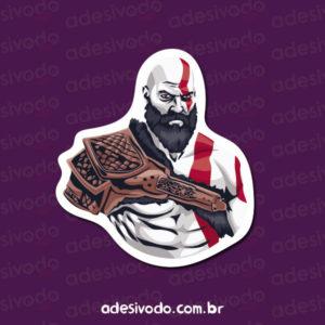 Adesivo do Kratos