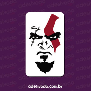 Adesivo do Kratos God of War