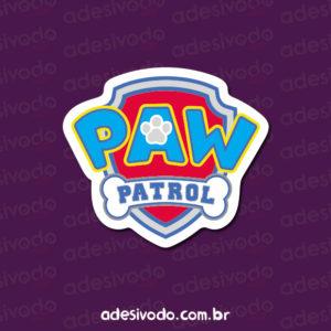 Adesivo do logotipo Patrulha Canina