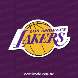Adesivo do Los Angeles Lakers