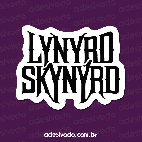 Adesivo do Lynyrd Skynyrd
