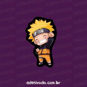 Adesivo do mangá Naruto